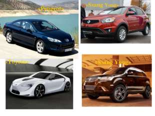 «Peugeot» «Ssang Yong» «Toyota» «Ssang Yong»