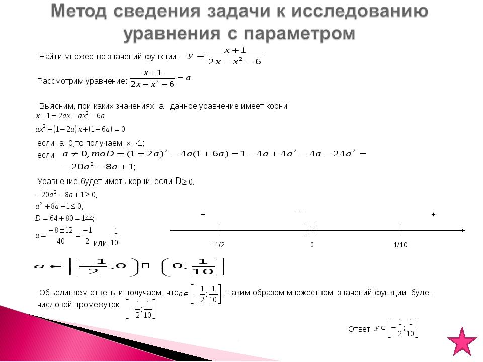 Решебник По Высшей Математики Найти Множество Значений Функции