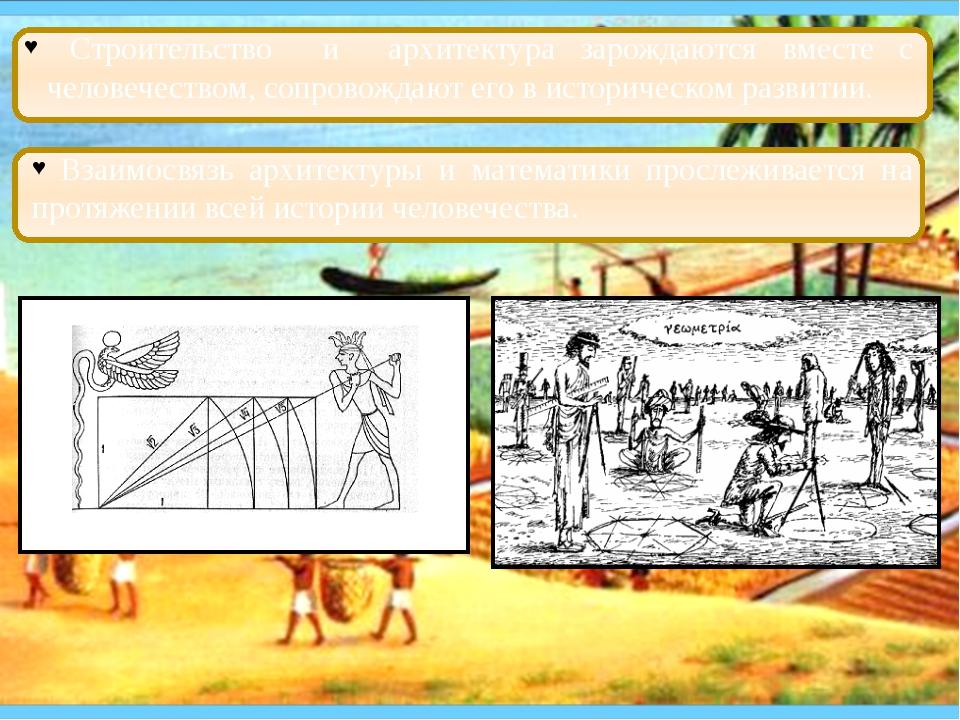 Взаимосвязь архитектуры и математики прослеживается на протяжении всей истор...