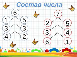 Состав числа 1 6 33 3 3 4 5 3 2 7 2 4 6 5 3 1