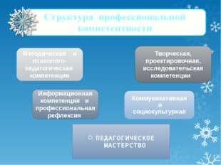 ПЕДАГОГИЧЕСК0Е МАСТЕРСТВО Информационная компетенция и профессиональная рефл
