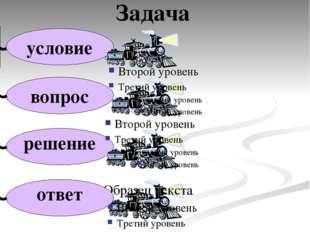 Задача условие вопрос решение ответ Было-8 (к.) Взяли- 3 (к.) 5 книг. 8-3=5 (