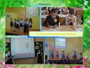 2013-2014 уч.год VI экологический фестиваль