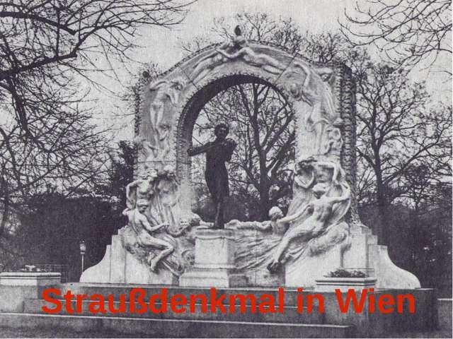 Straußdenkmal in Wien