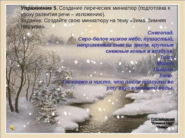 Снегопад. Серо-белое низкое небо, пушистый, непримятый снег на земле, крупные...