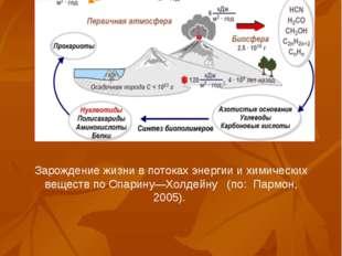 Зарождение жизни в потоках энергии и химических веществ по Опарину—Холдейну (