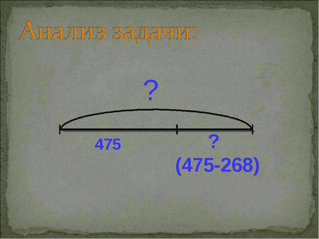 475 ? (475-268) ?