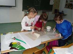 Распространяя идеи экологического воспитания, мы совместно с ребятами 1 А кла