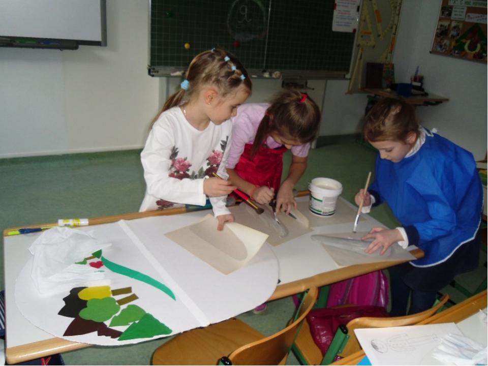 Распространяя идеи экологического воспитания, мы совместно с ребятами 1 А кла...