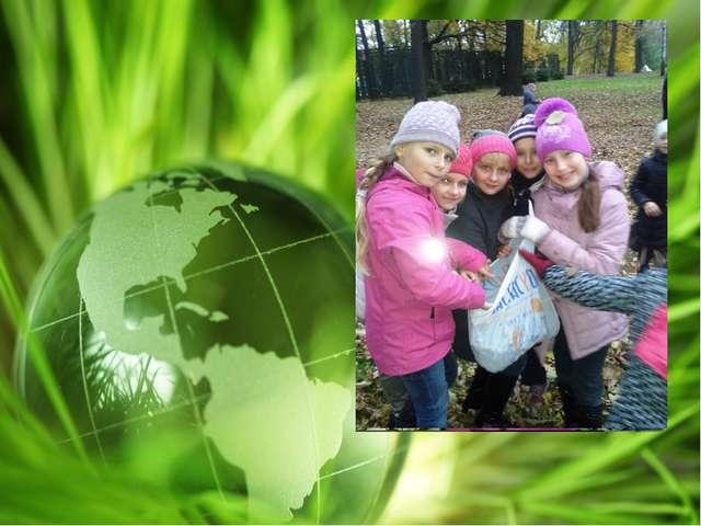 -Участвуем в акции «посади лес», собирали желуди для посадки.