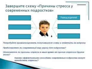 Попробуйте проанализировать получившуюся схему и ответить на вопросы Представ