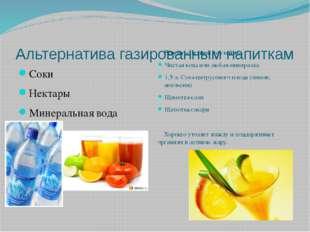 Альтернатива газированным напиткам Соки Нектары Минеральная вода Рецепт «Летн
