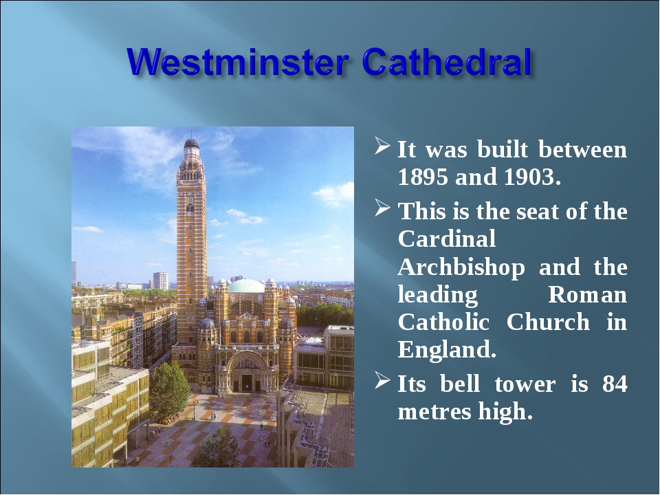 It was built between 1895 and 1903. This is the seat of the Cardinal Archbis...