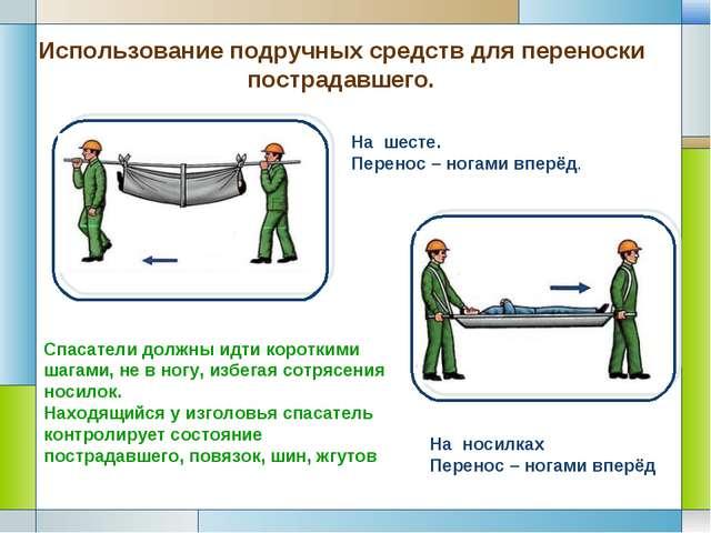 Эвакуация пострадавших подручными средствами - Theform1.ru