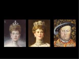 Queen Alexandra Queen Mary Henry VII.