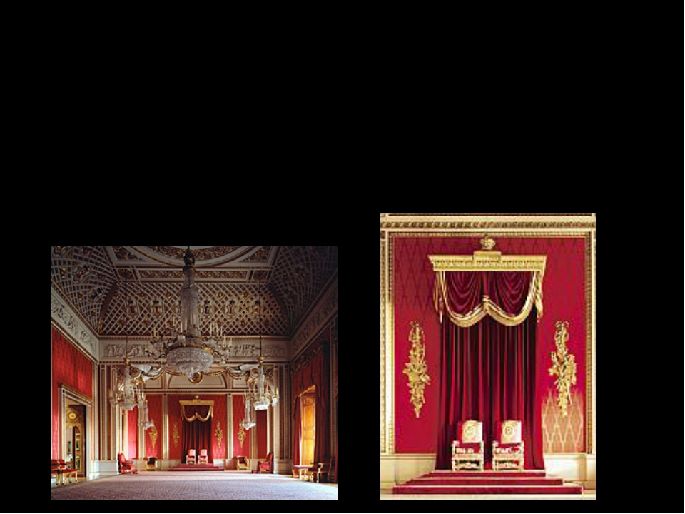 The Throne room- was used Elizabeth II., Duke of Edinburg at the Queen´s coro...
