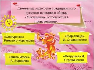 Сюжетные зарисовки традиционного русского нарядного обряда «Масленица» встреч