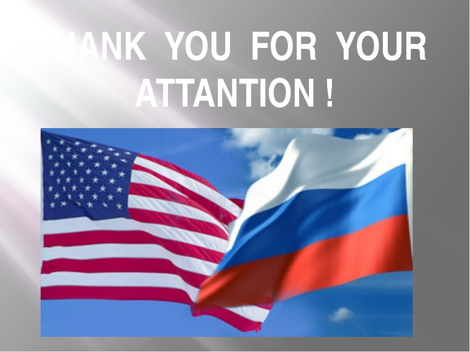 THANK YOU FOR YOUR ATTANTION !