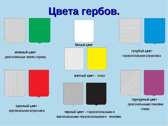 В какой цвет что означает в