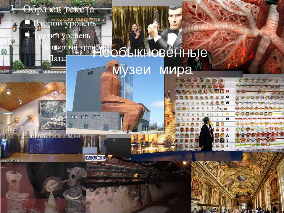Необыкновенные музеи мира