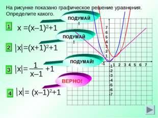 1 2 3 4 5 6 7 -7 -6 -5 -4 -3 -2 -1 7 6 5 4 3 2 1 -1 -2 -3 -4 -5 -6 -7 ВЕРНО!