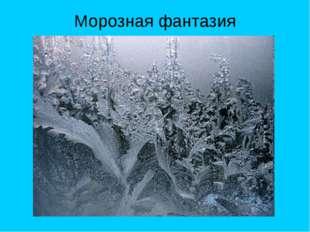 Морозная фантазия