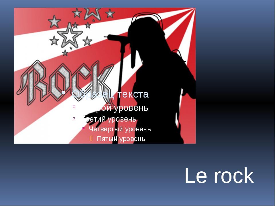 Le rock