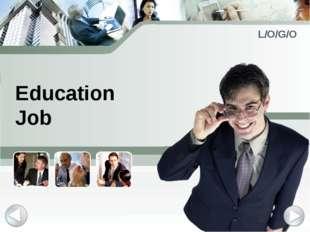 Education Job L/O/G/O
