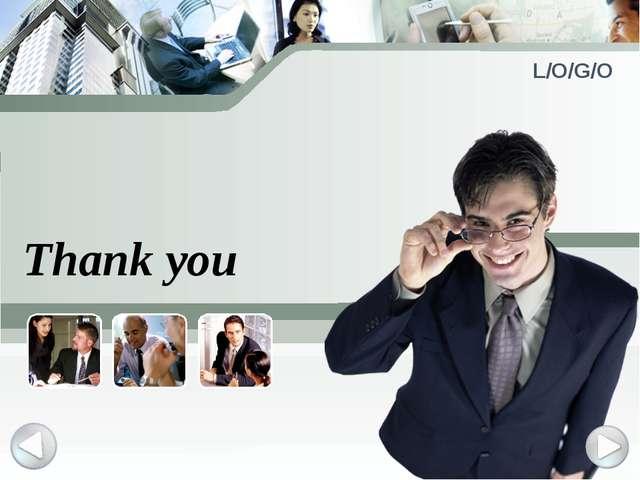Thank you L/O/G/O