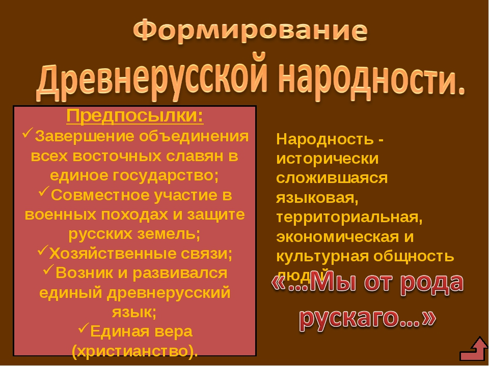 Предпосылки: Завершение объединения всех восточных славян в единое государств...