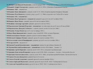 31. Мандровский Николай Васильевич , погиб 19 января 1942г. , похоронен в д.