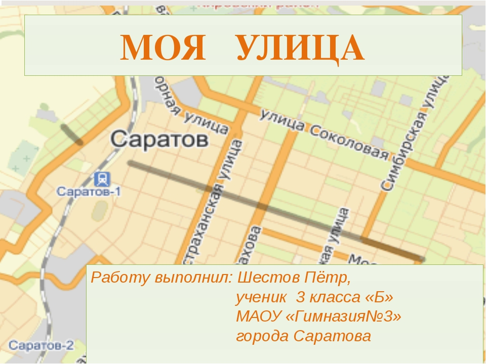 Работу выполнил: Шестов Пётр, ученик 3 класса «Б» МАОУ «Гимназия№3» города Са...