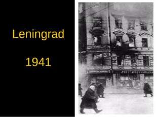 Leningrad 1941