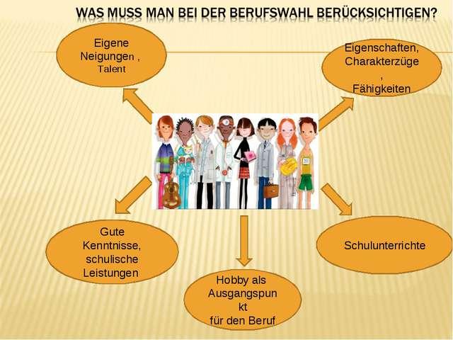 Сюда фото вставите) Eigene Neigungen , Talent Eigenschaften, Charakterzüge, F...