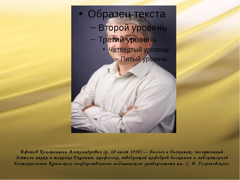 Ефетов Константин Александрович (р. 18 июля 1958) — биолог и биохимик, заслу...