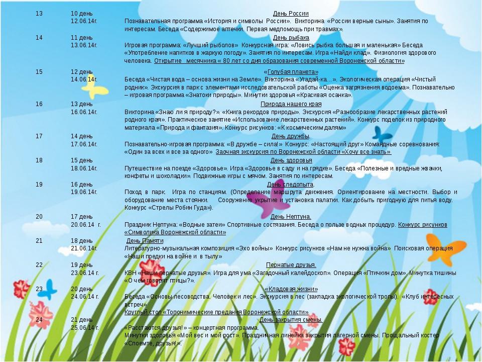 13 10 день 12.06.14г. День России Познавательная программа «История и символ...
