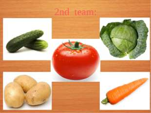 2nd team: