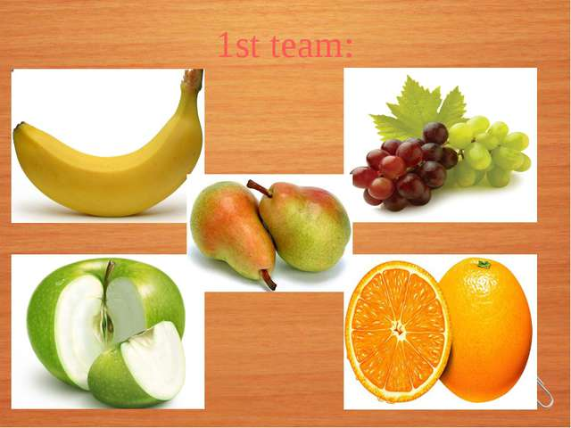 1st team: