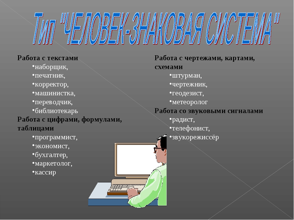 Работа с текстами наборщик, печатник, корректор, машинистка, переводчик, библ...