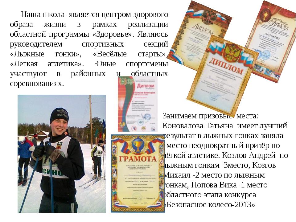 Занимаем призовые места: Коновалова Татьяна имеет лучший результат в лыжных г...