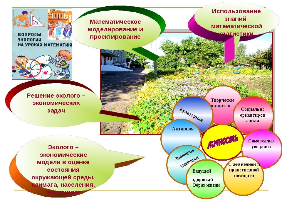Математическое моделирование и проектирование Эколого – экономические модели...