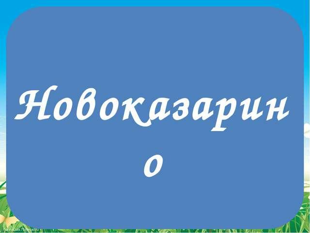 Новоказарино FokinaLida.75@mail.ru