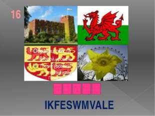 IKFESWMVALE 16