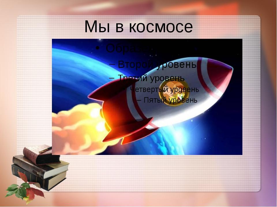 Мы в космосе