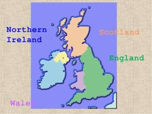 England Wales Scotland Northern Ireland