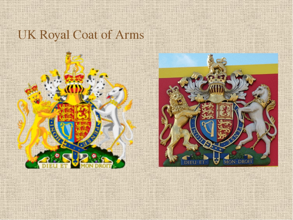 On the coat of arms you see three yellow leopards on the red background (coa...