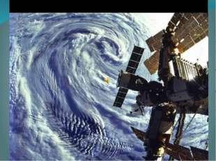 Северное сияние над Индийским океаном— вид из космоса
