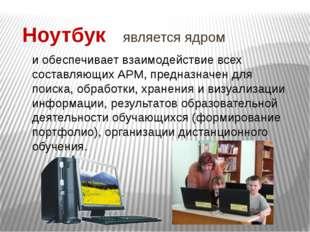 Интерактивное оборудование (доска) и проекционное устройство (проектор) Предн