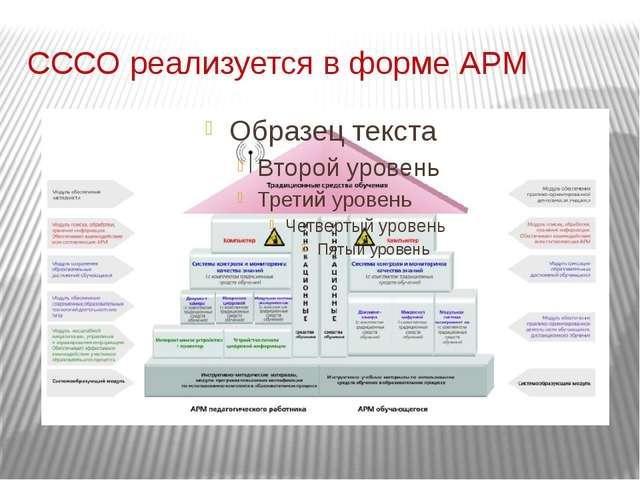 Современная система средств обучения (СССО) Инновационные средства обучения Т...