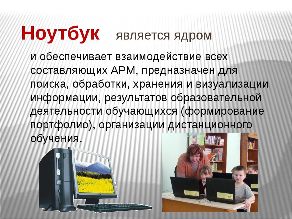 Интерактивное оборудование (доска) и проекционное устройство (проектор) Предн...